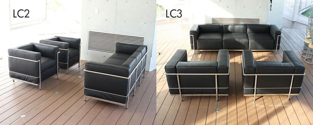 ル・コルビジェLC2/LC3