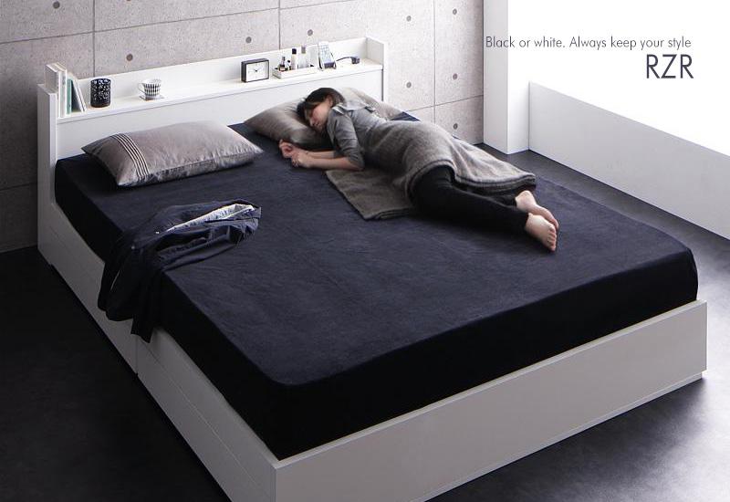 寝返りが打てる大きいベッド