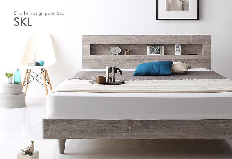 新商品-塩系デザインベッド